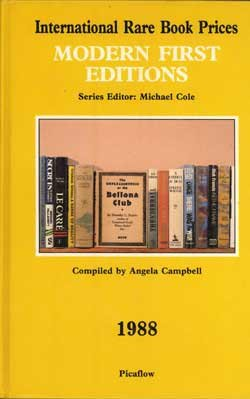 International Rare Book Prices: Modern First Editions