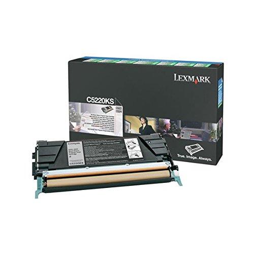 Lexmark C5220Ks Return Program Laser Toner For Lexmark C522/C524/C530/C532/C534, 4K Yld, Black