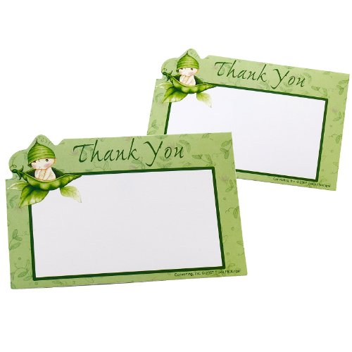 Creative Converting - Sweet Pea Thank You Postcards (8 Count)