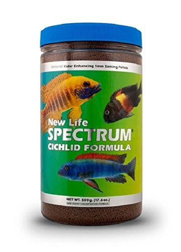 New Life Spectrum Cichlid Formula 1mm Sinking Freshwater Pet Food, 500gm (Cichlid Food Spectrum compare prices)