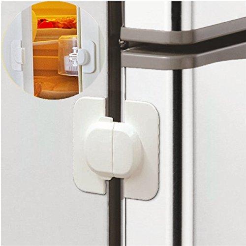 Kids Children Toddlers Fridge Freezer Door Baby Safety Draw Cabinet Lock (Fridge Kids Lock compare prices)