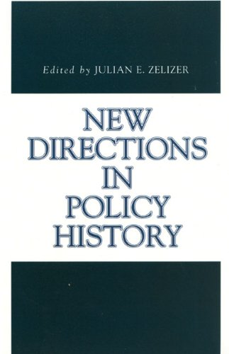 New Directions in Policy History (Issues in Policy History)