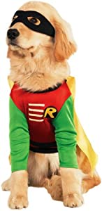 Rubies Costume Teen Titans Pet Costume, Robin by Rubies Decor