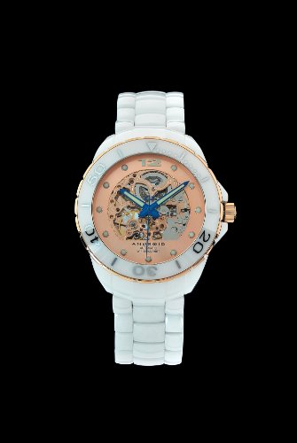 Android Women's Divemaster Exotic Automatic Ceramic Bracelet Watch