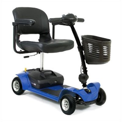 Go Go Travel Vehicle Ultra X 4 Wheel Scooter Color: Blue