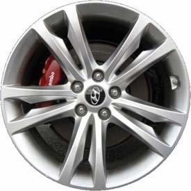 2009-12 Hyundai Genesis Coupe Front 19″ Wheel (OEM)