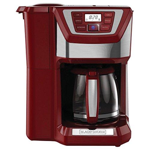 Black And Decker Coffee Maker Troubleshooting : Black Decker CM5000R 12 Cup Mill and Brew Coffee Maker Red eBay