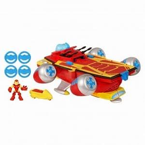 Playskool Marvel Super Hero Adventures Electronic Super Hero Command Center with Iron Man