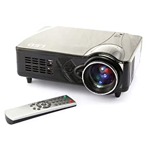 3D 1080P HD PROJECTOR 2200 Lumen contrast 800:1 16:9 Aspect ratio support 1080P/1080i/720P/576P/480P/576i/480i