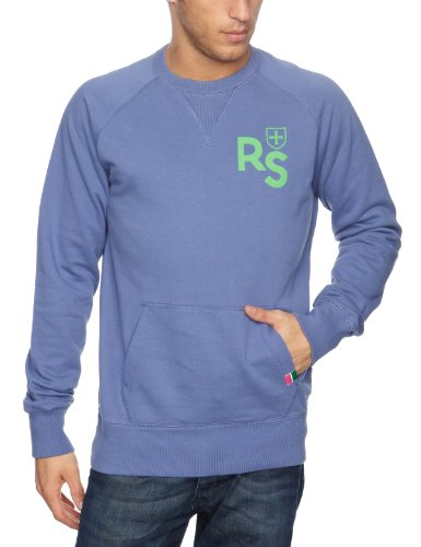 Rampant Sporting Guys Pocket Crew Men's Jumper Velvet/Morning Large