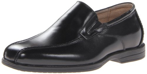 Florsheim Kids  Reveal JR Uniform Bike Toe Slip-on (Little Kid/Big Kid), Black, 5 M US Big Kid