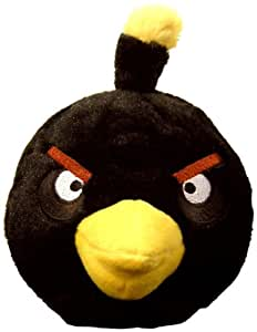 Angry Birds Plush 5-Inch Black Bird with Sound