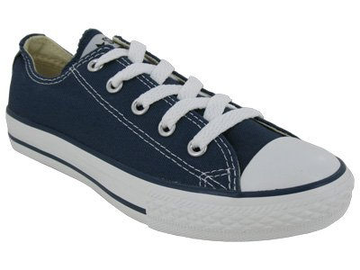 Converse Unisex-Child Chuck Taylor As Core Ox Lace-up 3j237 Navy Canvas Lace Up 12 Uk
