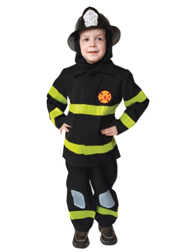 boys - Fire Fighter Child Lg Halloween Costume - Child Large