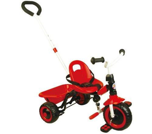 Qualitäts Dreirad für Kinder ab 18 m. Kinderdreirad Roller mit Schiebestange (359)