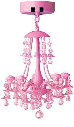 Pink Locker Chandelier
