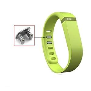 Aktivität- und Schlaf-Armband Ersatzarmband für Fitbit Flex mit Clasp ohne Tracker Groß/Klein (Small, Lime)