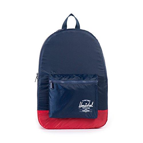 [ハーシェルサプライ] Herschel Supply 公式 Packable Daypack 10076-00009-OS Navy/Red (Navy/Red)