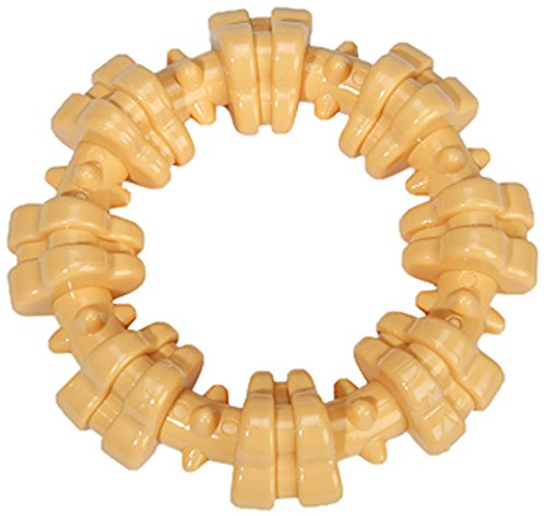 Nylabone Dura Chew Plus Textured Ring Dog Chew Toy, Regular