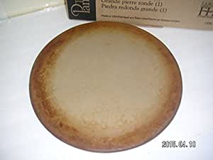 Amazon Com Pampered Chef 15 Quot Large Flat Pizza Stoneware