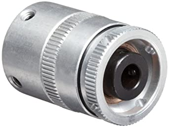 "Mini Slip Clutch, Type B, 1/4"" Bore-End 1 .984"" End 2 .354"" x 1.000"" OD x 1.417"" O/A Length"