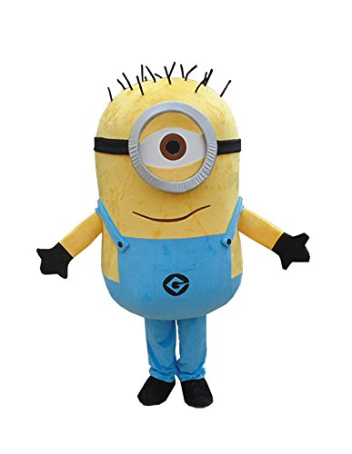 Despicable Me Minions Mascot Costume Cosplay Costumes