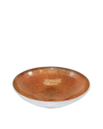 Pampa Bay Serenity Medium Round Bowl, Brown