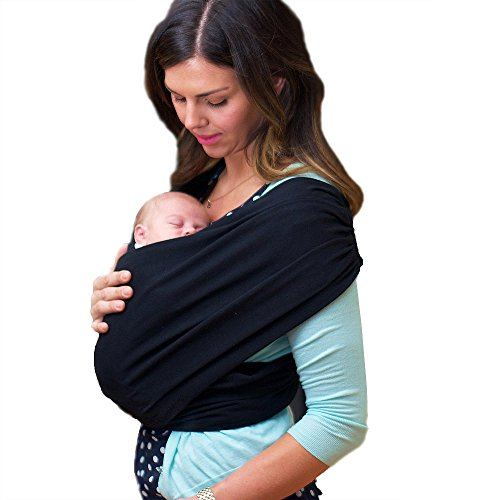 Purchase LIFETIME GUARANTEE - CuddleBug Baby Wrap Carrier - Black Baby Wrap - Free Shipping - ALL NA...