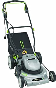 Earthwise 50220 20-Inch 12 Amp Side Discharge/Mulching/Bagging Electric Lawn Mower