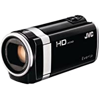 JVC GZ-HM690BUS Camcorder with 40x Optical Zoom and 2.7-Inch LCD Screen (Black) from JVC