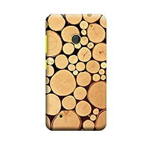 CaseLite Premium Printed Mobile Back Case Cover With Full protection For Nokia Lumia 530 (Designer Case)