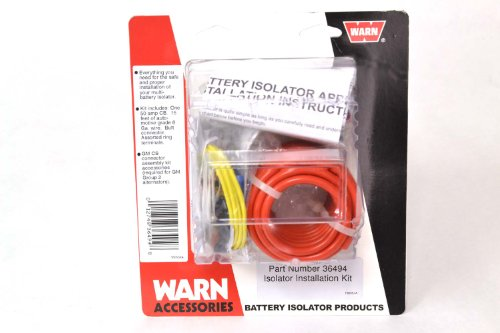 WARN 36494 Isolator Connector Kit