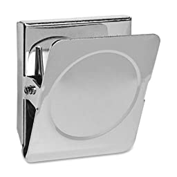 12 Pack - Nickel Plated Magnetic Clip - 1.5\
