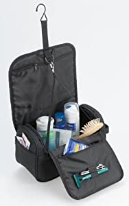 HALFAR - trousse de toilette BUSINESS - coloris noir - 1801059
