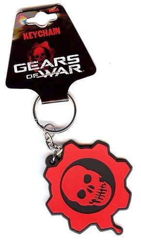NECA Gears of War Keychain - Rubber - Crimson Omen - 1