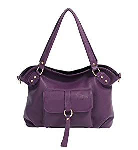 SAIERLONG Women's Tote Single Shoulder Bag Genuine Leather