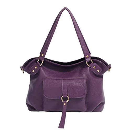 SAIERLONG Women's Tote Single Shoulder Bag Handbag Cow Leather