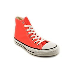 Converse Unisex Chuck Taylor® All Star® Seasonal Hi Fiery Coral Sneaker Men\'s 5, Women\'s 7 Medium