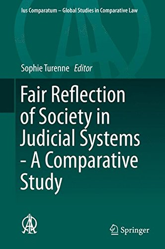 Fair Reflection of Society in Judicial Systems - A Comparative Study (Ius Comparatum - Global Studies in Comparative Law) L-Shape Assembly