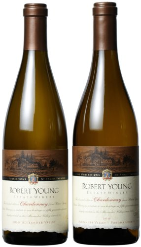 Robert Young Estate Winery  Chardonnay Vertical Mixed Pack, 2 x 750 mL