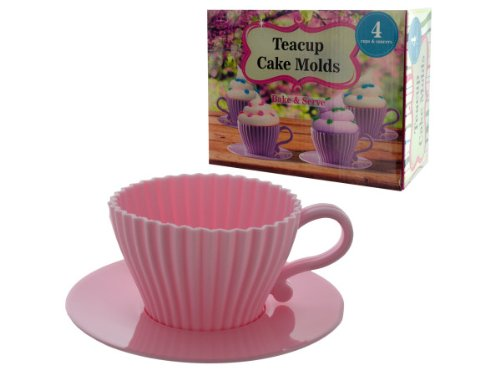 Wholesale Teacup Cake Molds – Set of 24, [Kitchen & Dining, Bakeware]