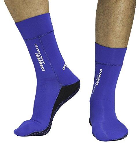 Cressi Ultra Stretch Calzari, Blu, M