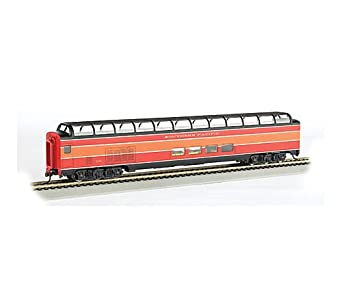 bachmann industries 85 39 budd full dome passenger daylight lighted interior car. Black Bedroom Furniture Sets. Home Design Ideas