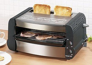 Best Deal Of New 700w Multi Use Grill Toaster And Snack Maker