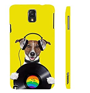 Samsung Galaxy Note 3 Lite DOG RECORD designer mobile hard shell case by Enthopia