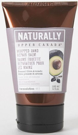 Upper Canada Soap Whipped Hand Repair Balm - Pressed Olive Avocado - 4 oz (Naturally Upper Canada Lotion compare prices)