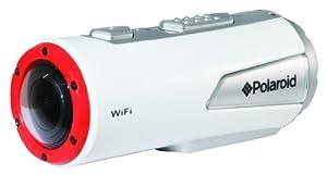 Polaroid Caméra étanche XS100i pour les sports d'action Extreme edition HD 1080p 16MP Wi-fi avec kit de fixation inclus