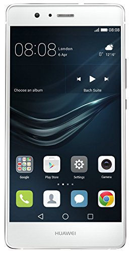 Huawei P9 Lite 16GB VNS-L21 Dual-SIM Factory Unlocked Smartphone - International Version with No Warranty (White)