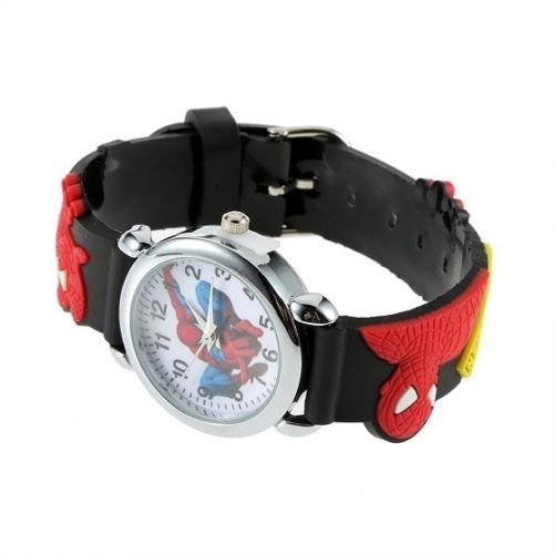 SpiderMan Spider-man Marvel Cartoon AME-COMI / casual watch kids / collection collector / AME-COMI mania for parallel imports