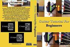 Guitar Tutorial For Beginners [DVD]